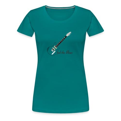 Blues - Frauen Premium T-Shirt