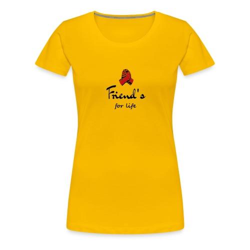 Best friends - Frauen Premium T-Shirt