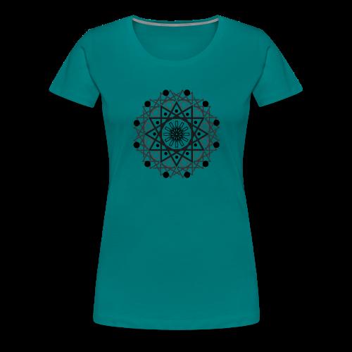 Mandalas 2 - Camiseta premium mujer