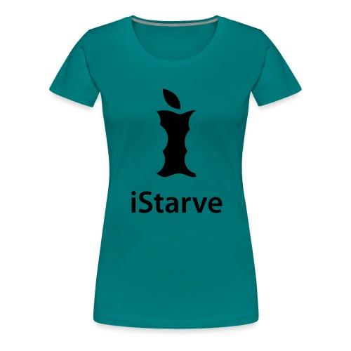 logo istarve hoch - Frauen Premium T-Shirt