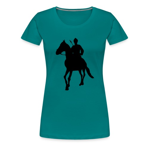 Sikh Warrior - Women's Premium T-Shirt
