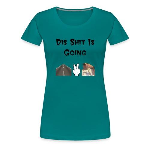 W.T.F. - Vrouwen Premium T-shirt