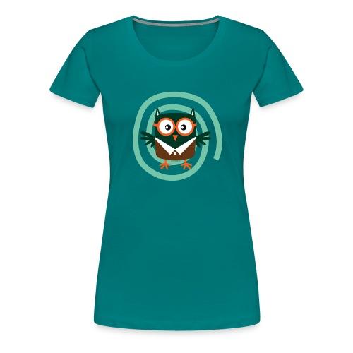 School Owl - Textile and gift products FP10-54 - Naisten premium t-paita
