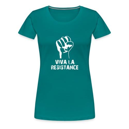 Vive La Resistance Logo - T-shirt Premium Femme