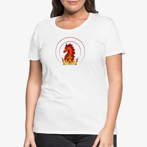 Drachenkoenig Logo - Frauen Premium T-Shirt