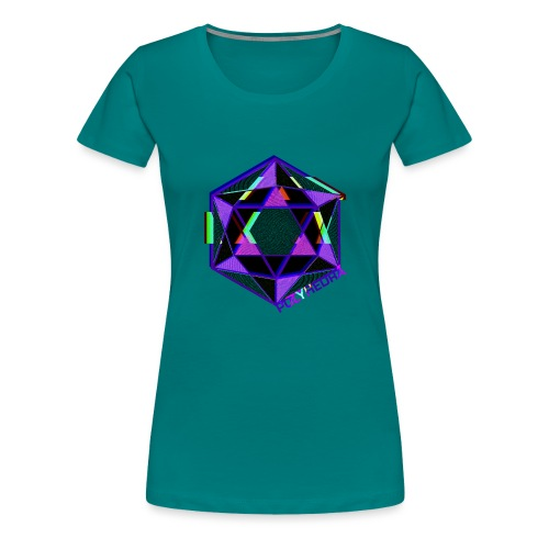 POLYHEDRA - Women's Premium T-Shirt