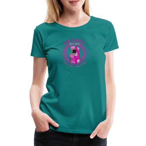 arcade retro game - Camiseta premium mujer