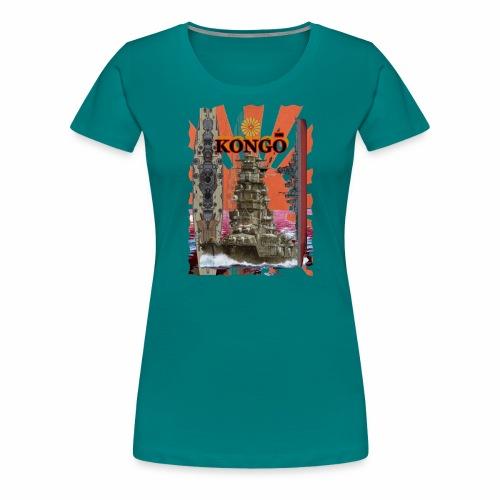 """""""Kongo"""" Schlachtschiff - Frauen Premium T-Shirt"""