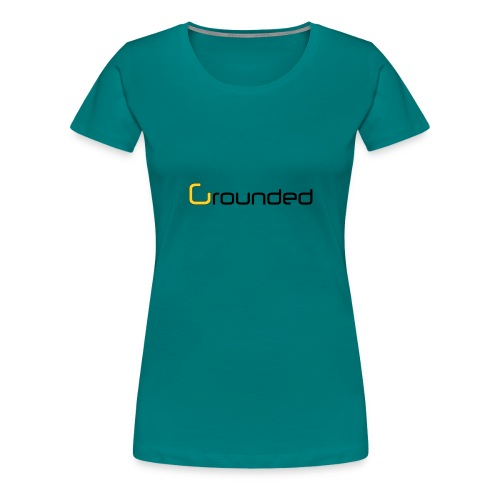 grounded 850 png - Frauen Premium T-Shirt