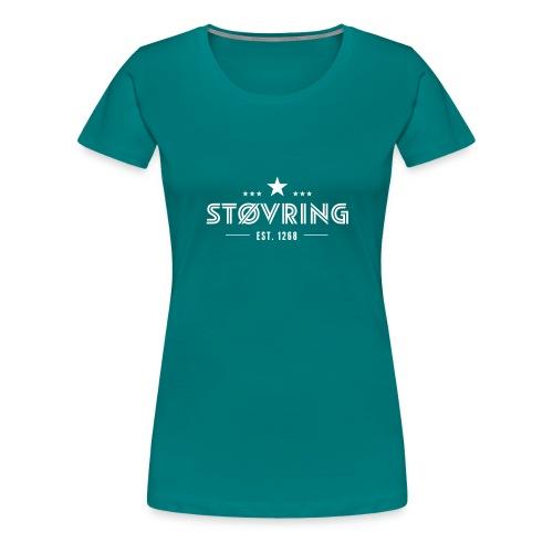 Støvring Stars - Dame premium T-shirt