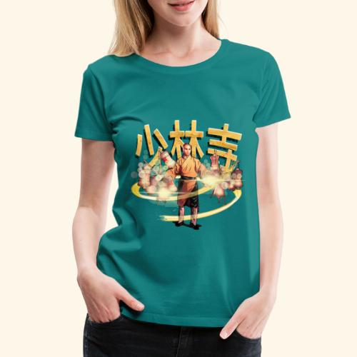 Gordon Liu as San Te - Warrior Monk - Vrouwen Premium T-shirt