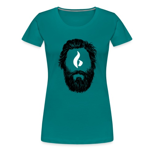 Head 2 HD png - Frauen Premium T-Shirt