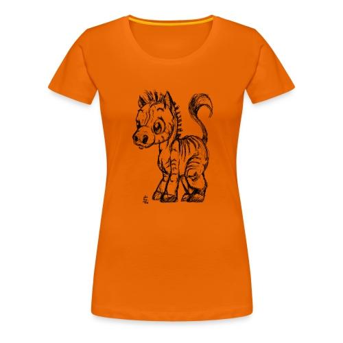 zebre - T-shirt Premium Femme