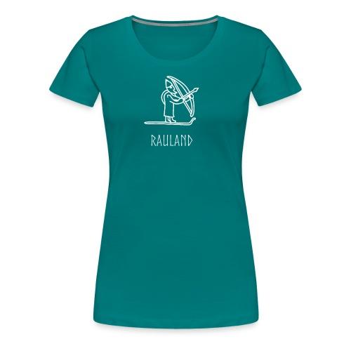 Rauland Med Ullr På Ski - Premium T-skjorte for kvinner
