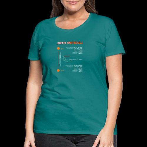 Zeta Reticuli - Frauen Premium T-Shirt