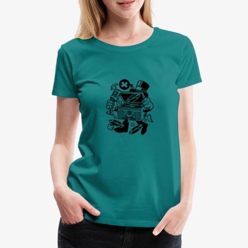 Platine vinyle classique - T-shirt Premium Femme