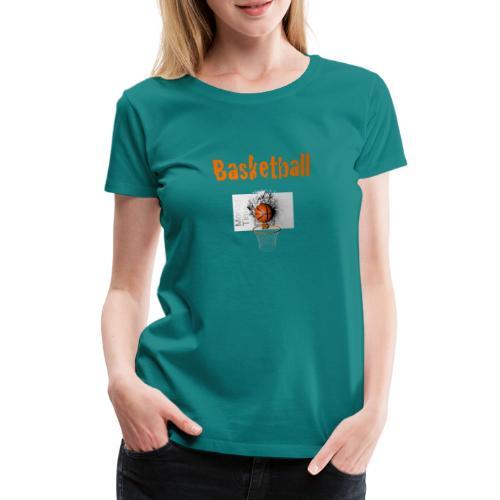 Money time BasketBall - T-shirt Premium Femme