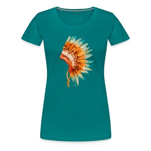 Koszulka Indianie 3 - Koszulka damska Premium
