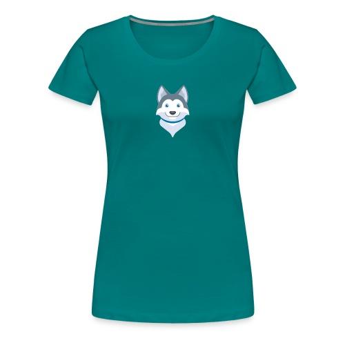 husky cucci - Camiseta premium mujer