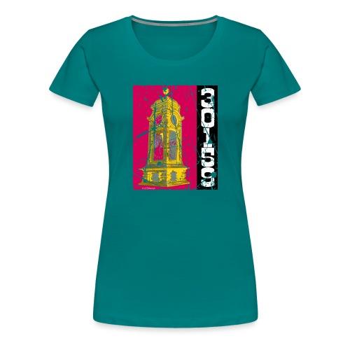 Stadtansichten Hannover Kroepke - Frauen Premium T-Shirt