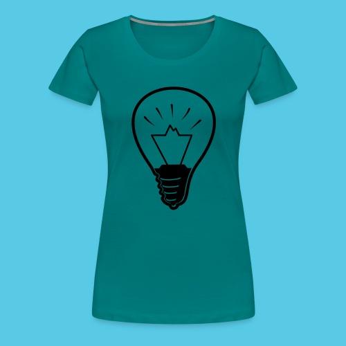 glühende Berge - Frauen Premium T-Shirt