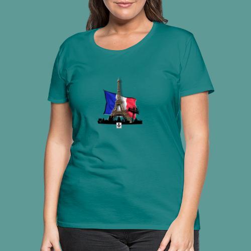 Tee shirt marque mutagene PARIS - T-shirt Premium Femme
