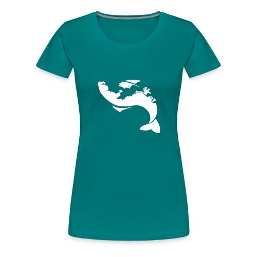 Küstenfisch - Frauen Premium T-Shirt