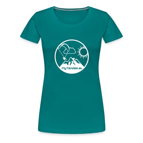 FlytandemKreisDesign - Frauen Premium T-Shirt