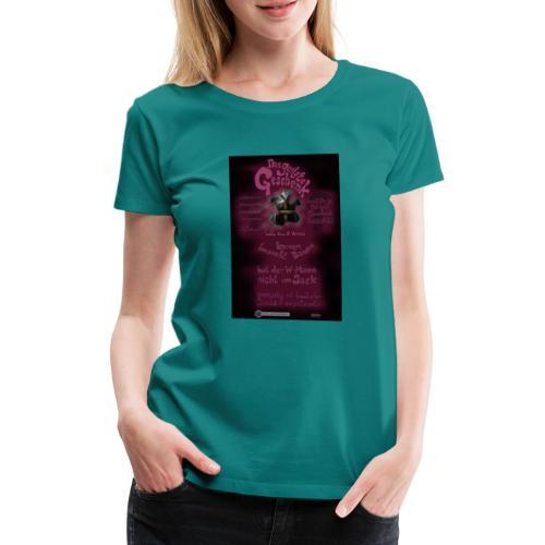 Design Das geilste Geschenk B Seite - Frauen Premium T-Shirt