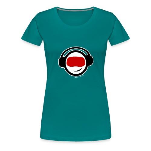 Hiber Head - White Label - Women's Premium T-Shirt