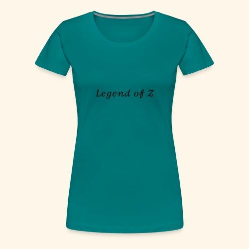 Legend of Z - Premium-T-shirt dam