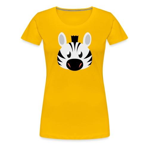Zebra Zoe - Women's Premium T-Shirt
