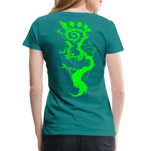 FootMoss green - Women's Premium T-Shirt