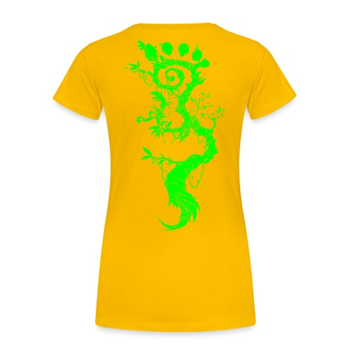 FootMoss green - Women's Premium T-Shirt