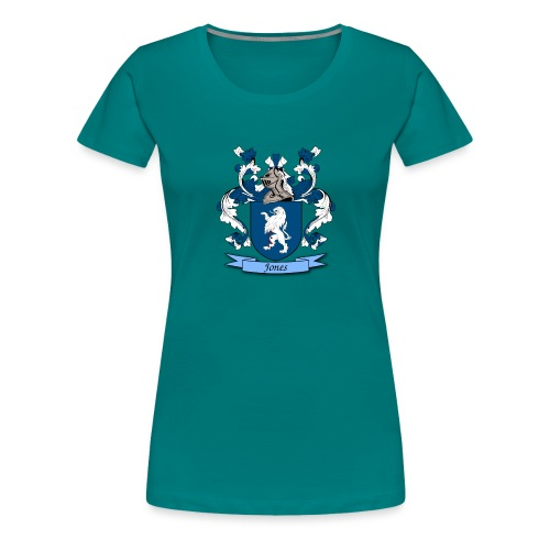 Jones Family Crest - Women's Premium T-Shirt