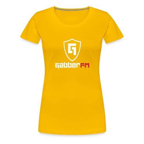 Gabber FM Logo Letters - Women's Premium T-Shirt