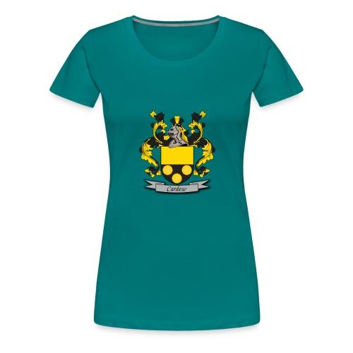 Cardew Family Crest - Women's Premium T-Shirt