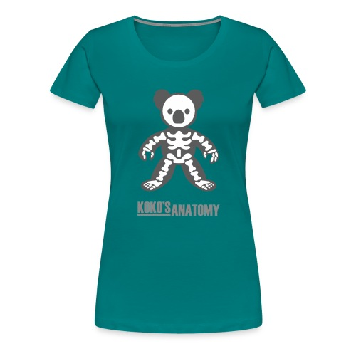 Koko anatomy - Camiseta premium mujer