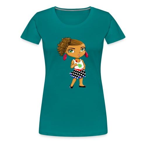 Manga chibi cute - T-shirt Premium Femme