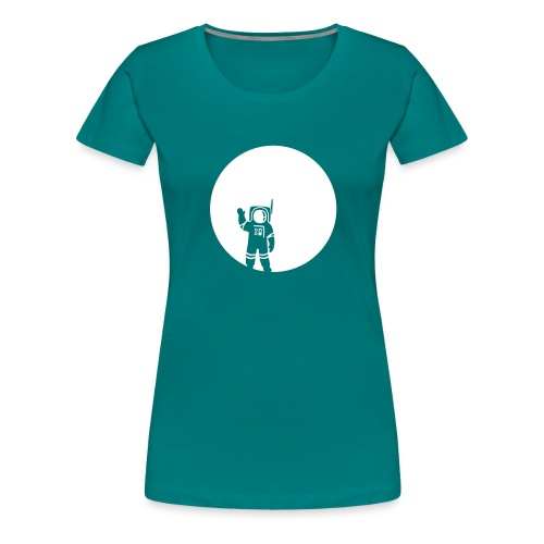 moon - Frauen Premium T-Shirt