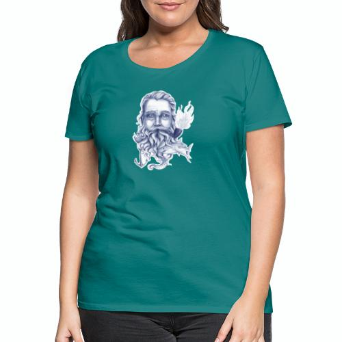 Wise Bearded Sailor - Women's Premium T-Shirt