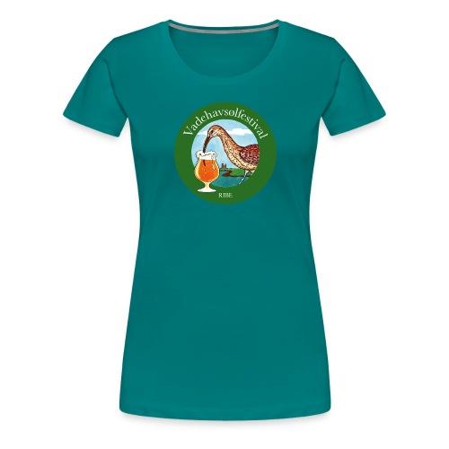 Vadehavsølfestival - Dame premium T-shirt