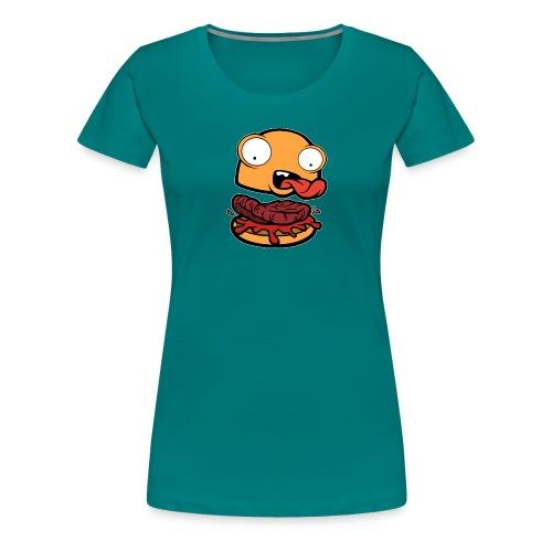 Crazy Burger - Camiseta premium mujer