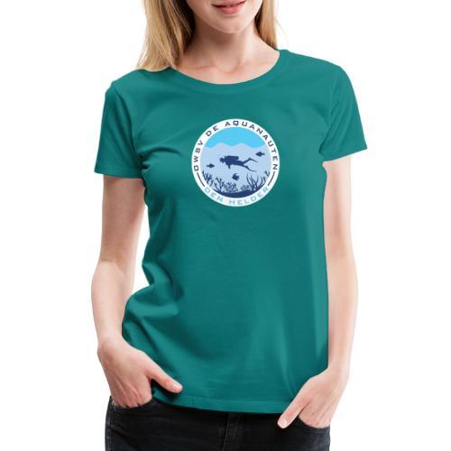 Logo OWSV de Aquanauten - Vrouwen Premium T-shirt