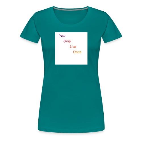 YOLO Bunt - Frauen Premium T-Shirt