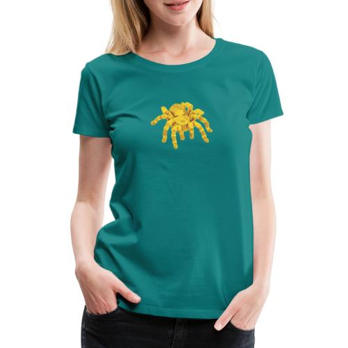 Spinne Gold - Frauen Premium T-Shirt
