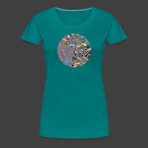 The joy of living - Premium-T-shirt dam