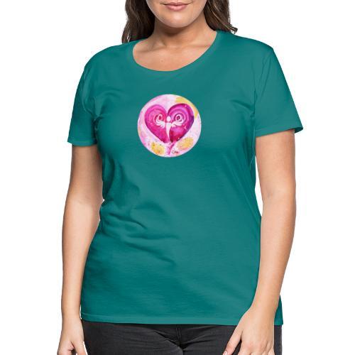 Engel des LiebesGlücks - Frauen Premium T-Shirt