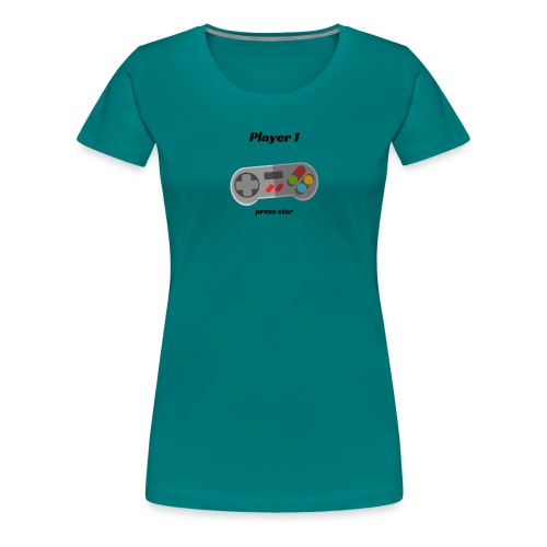 Player 1 - Women's Premium T-Shirt