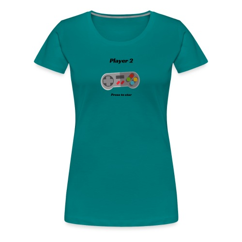player two - Women's Premium T-Shirt